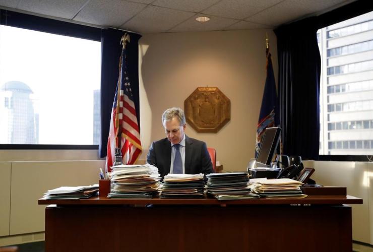 New York State Attorney General, Eric Schneiderman, New York