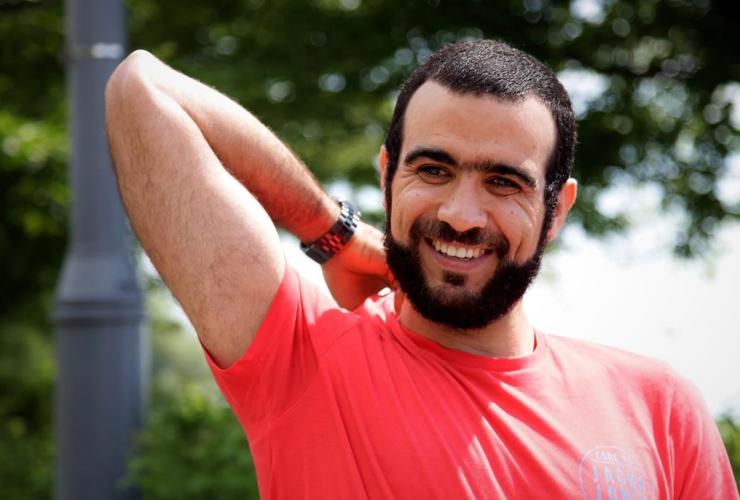 Former Guantanamo Bay prisoner, Omar Khadr, Mississauga,
