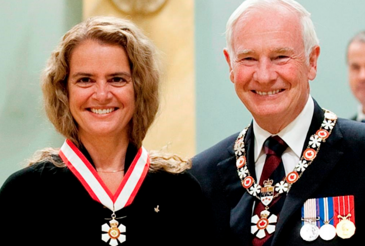 Order of Canada, Julie Payette, David Johnston, Rideau Hall