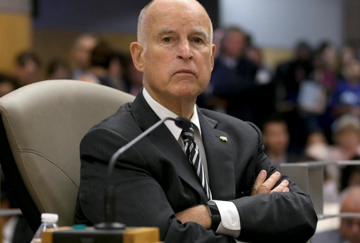 California Gov. Jerry Brown, Senate Environmental Quality Committee, climate change bills, Sacramento,