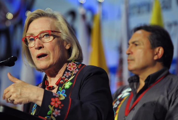 Indigenous and Northern Affairs, Carolyn Bennett, Perry Bellegarde, Assembly of First Nation