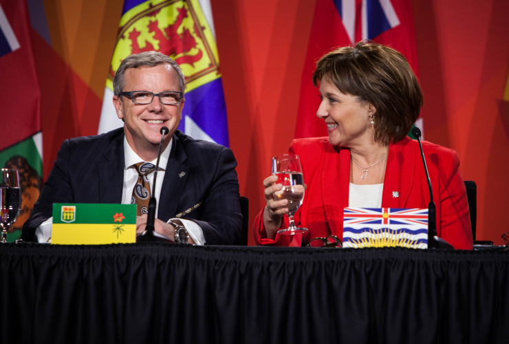 Brad Wall, Christy Clark, Saskatchewan, British Columbia, Ottawa