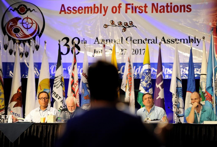 National Chief Perry Bellegarde, Assembly of First Nations,