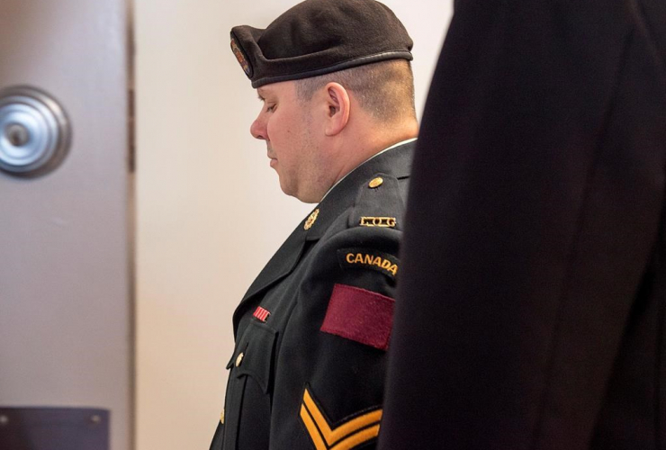 Cpl. Garett Rollman, Canadian Armed Forces reservist, military court, Kentville, N.S.,