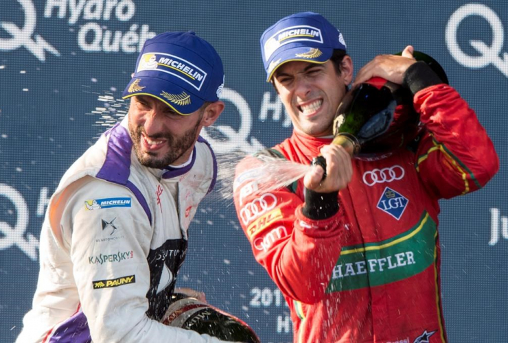 Lucas Di Grassi, Jose Maria Lopez, Argentina, Montreal Formula ePrix, electric car race, Montreal
