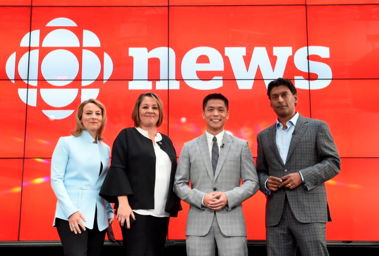 Adrienne Arsenault, Andrew Chang, Ian Hanomansing, Rosemary Barton, The National, CBC