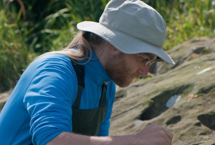Richard Schuster, Karri Hartley, species at risk, Mandarte Island, Canada