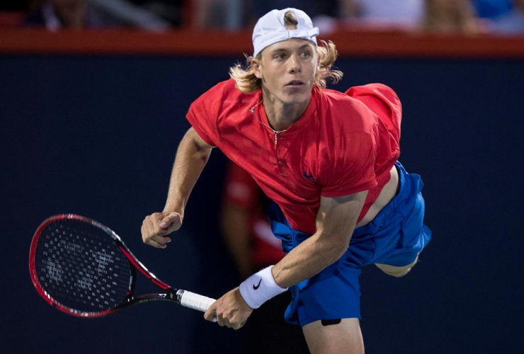 Denis Shapovalov, Canada, Alexander Zverev, semifinals, Rogers Cup tennis tournament, Montreal