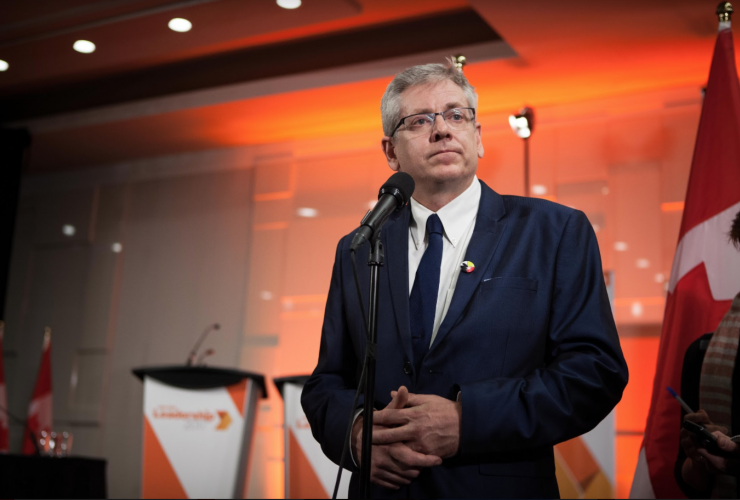 Charlie Angus, NDP Party, NDP leadership race