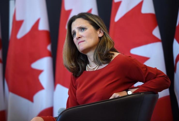 Foreign Affairs Minister Chrystia Freeland, NAFTA, University of Ottawa,