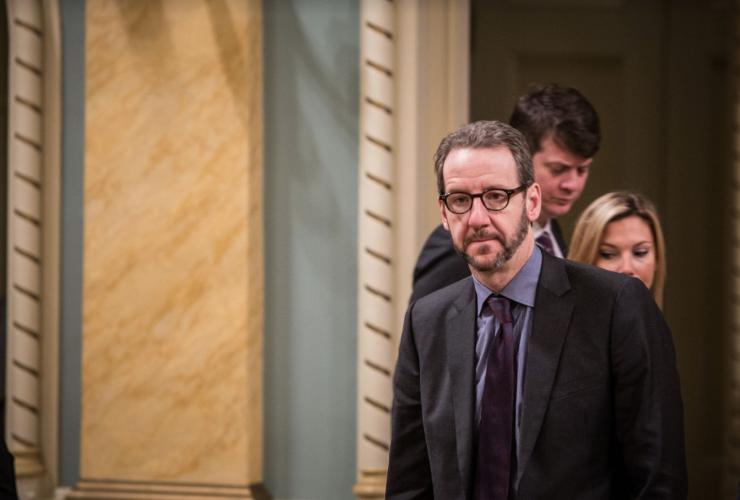 Gerald butts, PMO, advisor, Justin Trudeau, cabinet shuffle, Rideau Hall