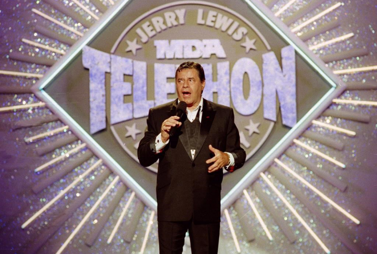 Jerry Lewis, Jerry Lewis, MDA, Labor Day Telethon, fundraiser