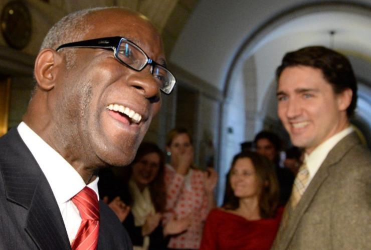 Emmanuel Dubourg, Bourassa, Montreal, Haiti, Liberal MP