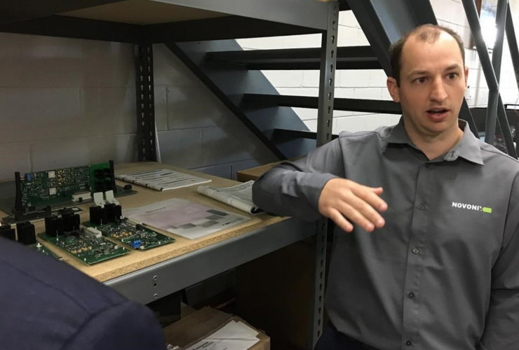 Chris Burns, Dartmouth, Nova Scotia, lithium-ion battery, Novonix Battery Testing Services