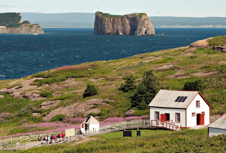Bonaventure Island, Perce rock,