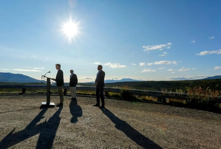 Justin Trudeau, Yukon, Larry Bagnell, Sandy Silver, Whitehorse,
