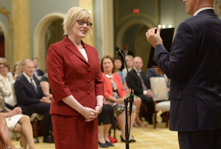 Carla Qualtrough, Minister of Public Works and Procurement, Rideau Hall,