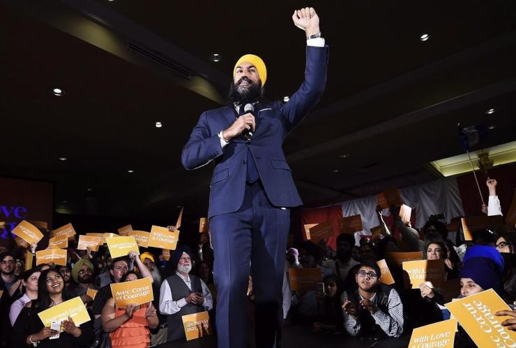 Jagmeet Singh, NDP, leadership