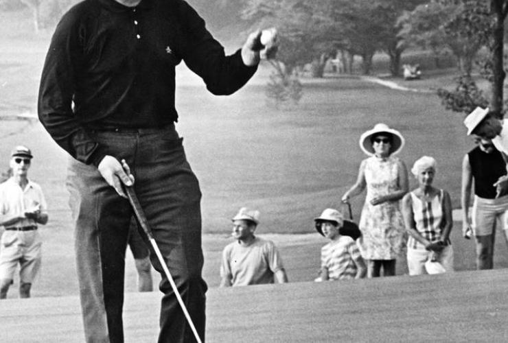 Veteran golfer, Moe Norman, Gilford, Ontario, Board of Trade Country Club, Woodridge, Toronto,