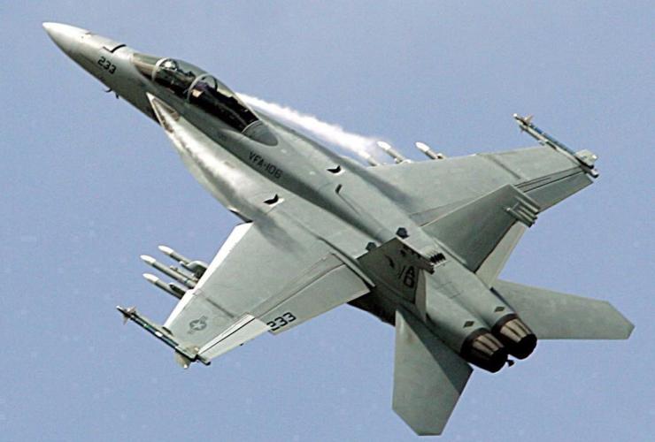 Boeing, F-18, Super Hornet, 47th Paris Air Show, Le Bourget, Paris,