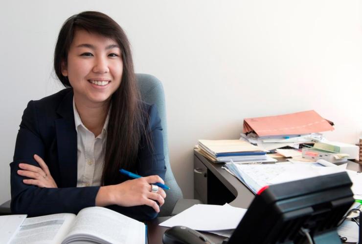 Jennifer Chan, Legal Aid Society, Statistics Canada, census