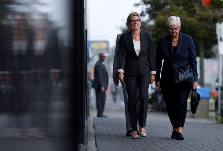 Ontario Premier Kathleen Wynne, witness, Election Act bribery, trial, Sudbury, Ontario,