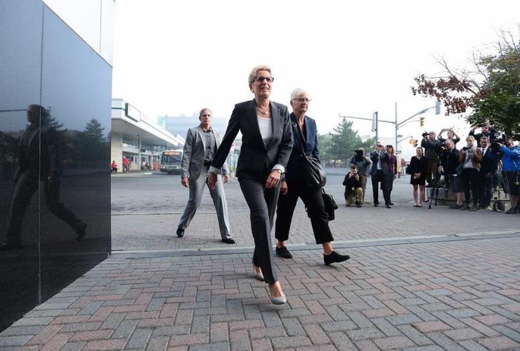 Ontario Premier Kathleen Wynne, Election Act, bribery trial, Sudbury, Ontario,