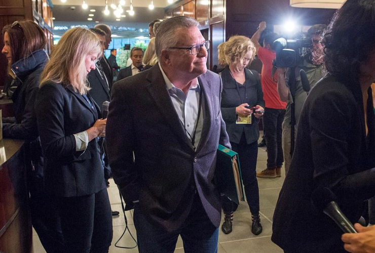 Public Safety Minister Ralph Goodale, Liberal cabinet meet, St. John's, N.L.,