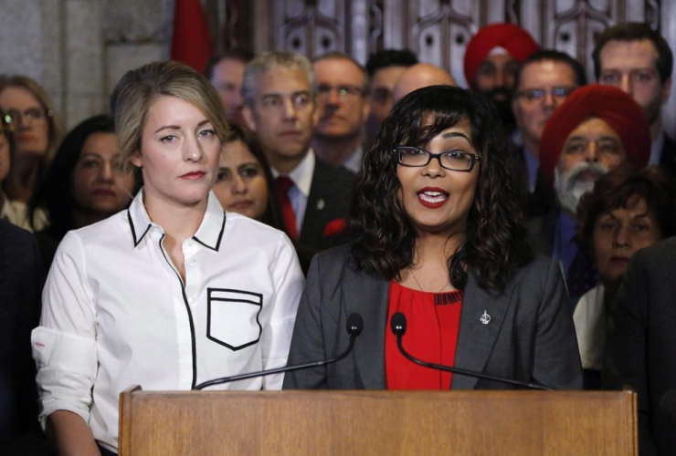 Liberal MP, Iqra Khalid, anti-Islamophobia motion, Parliament Hill, Minister of Canadian Heritage, Melanie Joly,