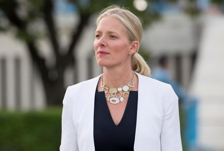 Minister of Environment and Climate Change, Catherine McKenna, United Nations Headquarters, New York City,