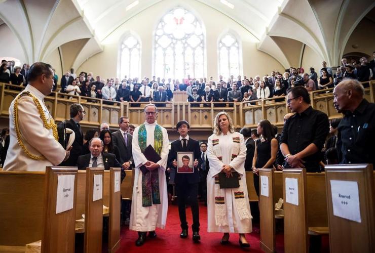 funeral service, Arnold Chan, Scarborough-Agincourt,