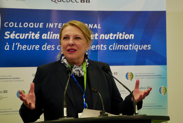 International Relation Minister, Quebec, Christine-St-Pierre