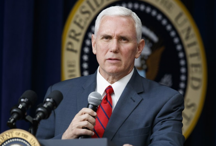 Mike Pence, United States, vice president