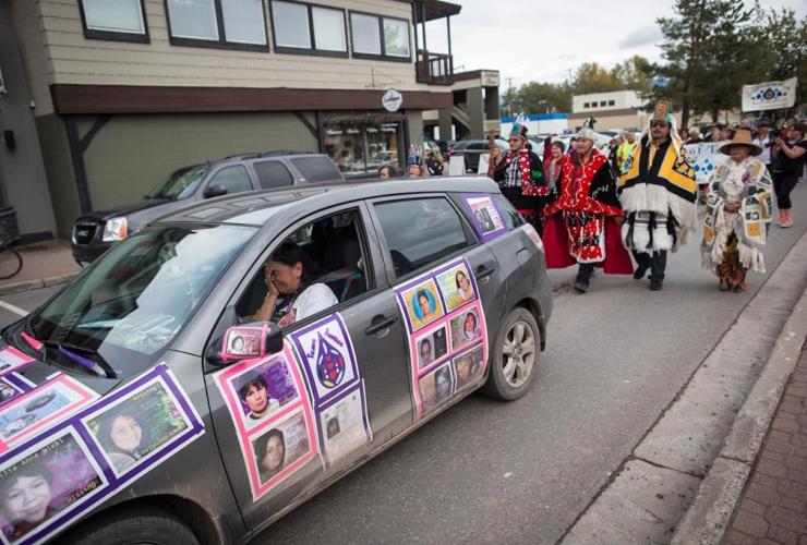 Driving, car, photos, missing women, Gladys Radek,