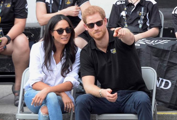 Prince Harry, girlfriend, Meghan Markle, wheelchair tennis event, Invictus Games, Toronto,