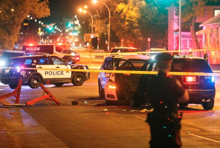 Edmonton, terrorist attack, roadblack, Islamic State
