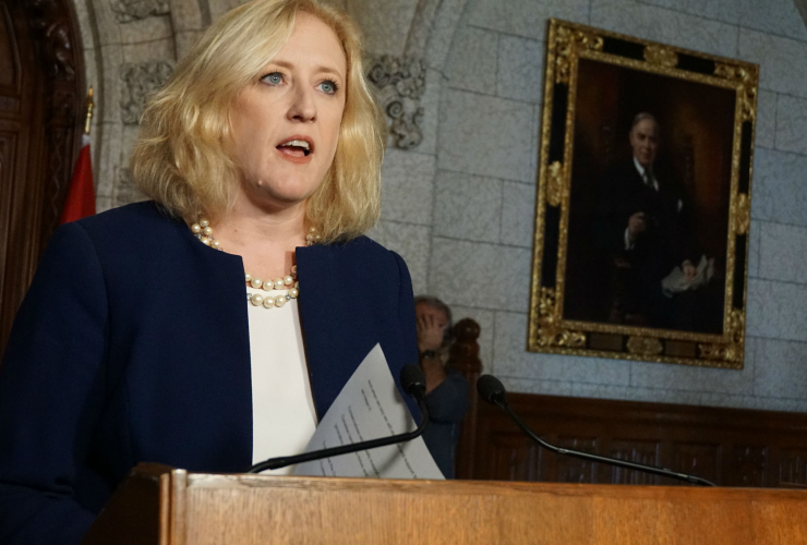 Lisa Raitt, Conservative Party, deputy leader