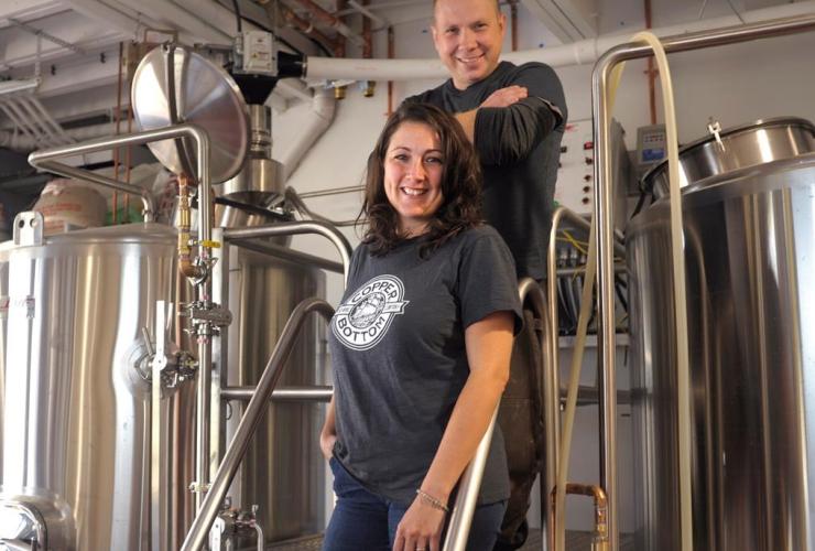 Singer, Ashley Condon, Ken Spears, Copper Bottom brewery, Montague, P.E.I.,