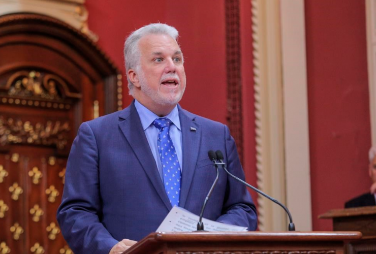 Philippe Couillard, Quebec, Montreal, cabinet shuffle