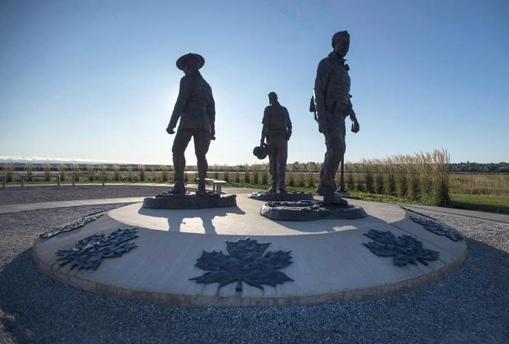 monument, RCMP Constables, Fabrice Gevaudan, Dave Ross, Doug Larche, Moncton,