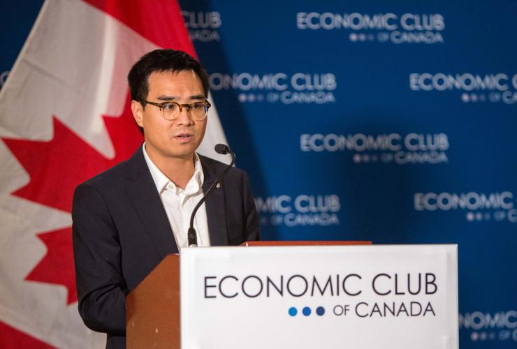 Kevin Chan, Facebook, Canada, Ottawa, Economic Club of Canada, Karina Gould, fake news, elections, Russia