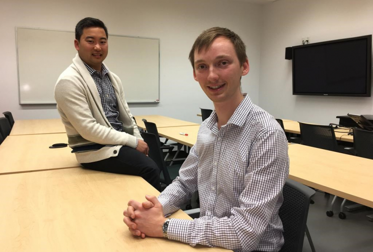 University of British Columbia, medical student, Dakota Peacock, pharmaceutical sciences, Jason Min,