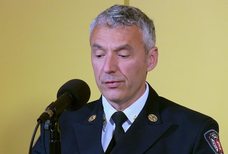 Director, Fire and Emergency Services, Ted Ruiter, Fernie,