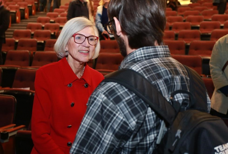 Beverley McLachlin, Chief Justice, Supreme Court of Canada, Francis Forbes law lecture, Memorial University, Newfoundland,