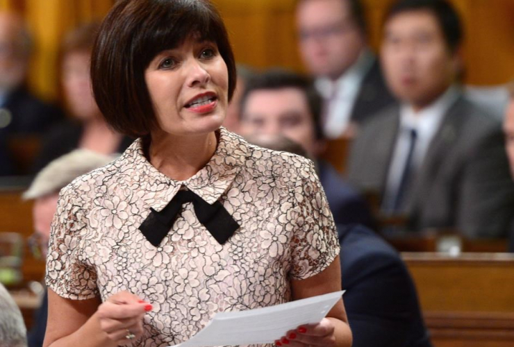 Ginette Petitpas Taylor, Minister of Health, Question Period, House of Commons, Parliament Hill,