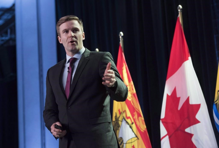 New Brunswick Premier, Brian Gallant, State of the Province address, Fredericton,