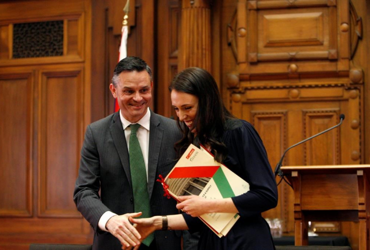 New Zealand, Green Party leader, James Shaw, Prime Minister-designate, Jacinda Ardern, confidence and supply agreement,