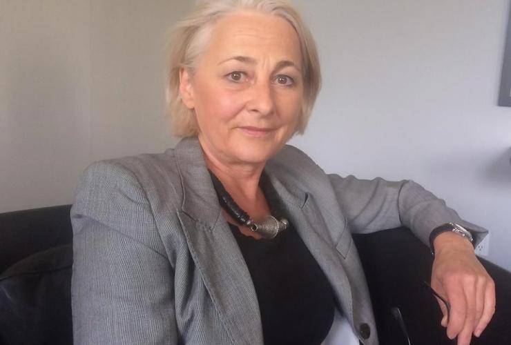 German ambassador, Sabine Sparwasser,