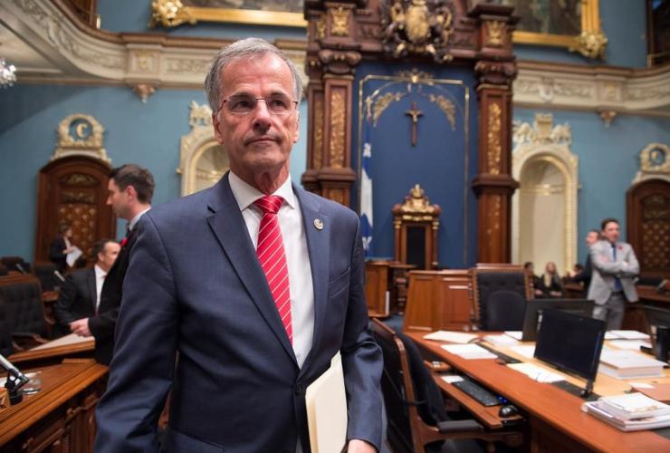 Guy Ouellette, National Assembly, anti-corruption, biker gangs, Quebec Liberals