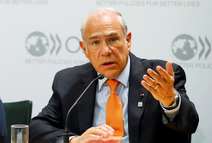Secretary General, Organisation for Economic Co-operation and Development, OECD, Jose Angel Gurria, Paris,